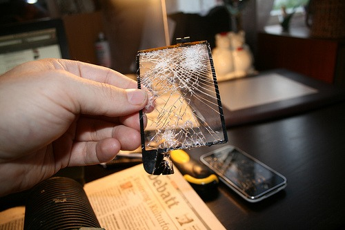 Iphone 3G glass screen repair