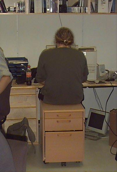meg min første kontorstol