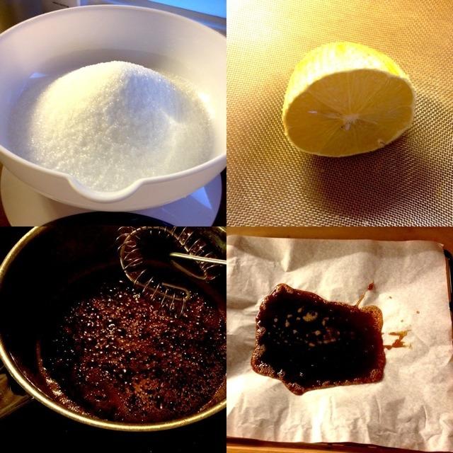 Hjemmelaget kandis-sukker